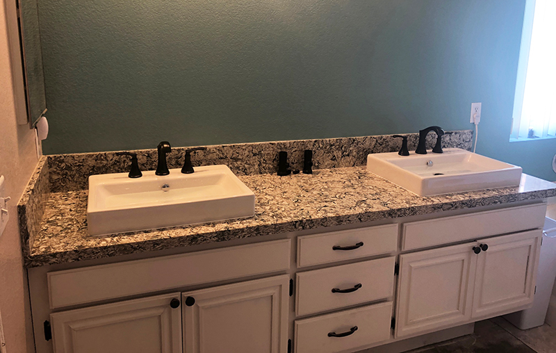 Install a Bathroom Vanity and Sink in Antelope Valley