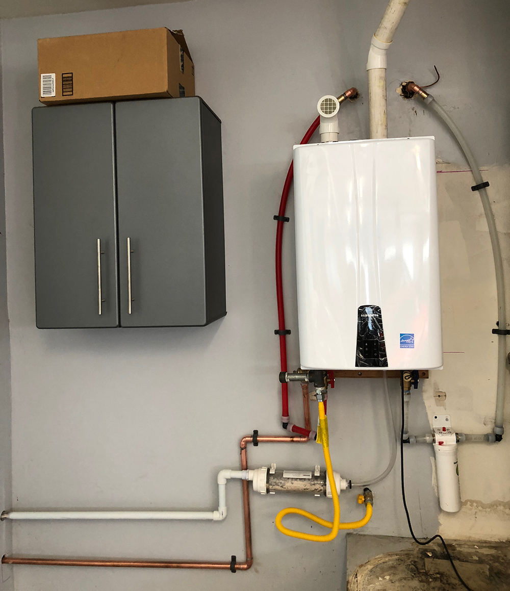 tankless water heater installation in palmdale lancaster palmdale plumbers lancaster plumbing - Tankless Water Heater Installation
