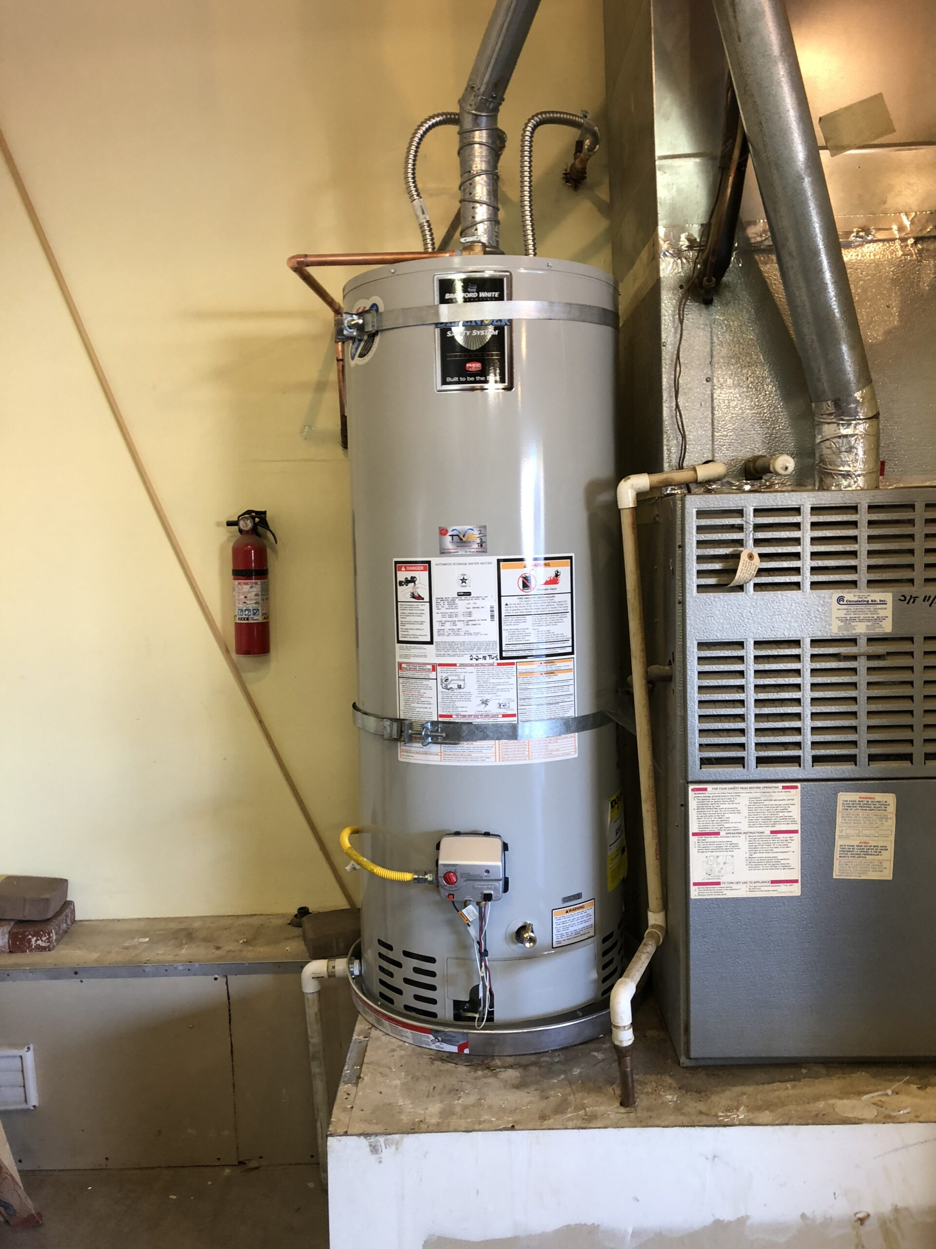 New Gas Water Heater Installed in Palmdale