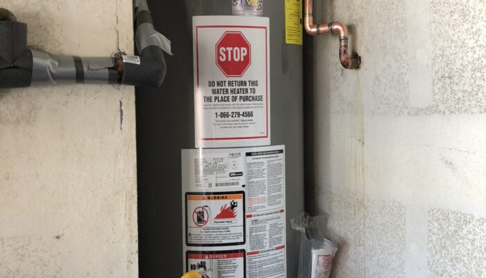 Water Heater Installation in Palmdale